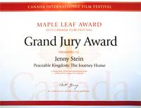 Canada FF Award