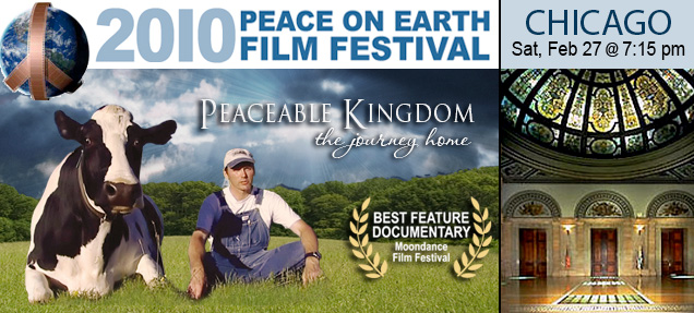 peaceable kingdom at peace on earth film fest