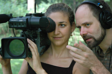 Filmmakers Jenny Stein & James LaVeck