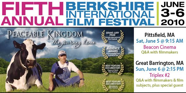 Peaceable Kingdom at Berkshire FIlm Fest