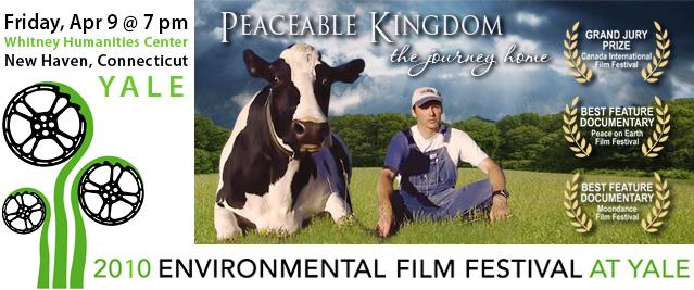Peaceable Kingdom at Yale Env Film Fest